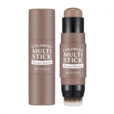 Missha Румяна-карандаш Coloring Multi Stick BR02 Peanut Brown