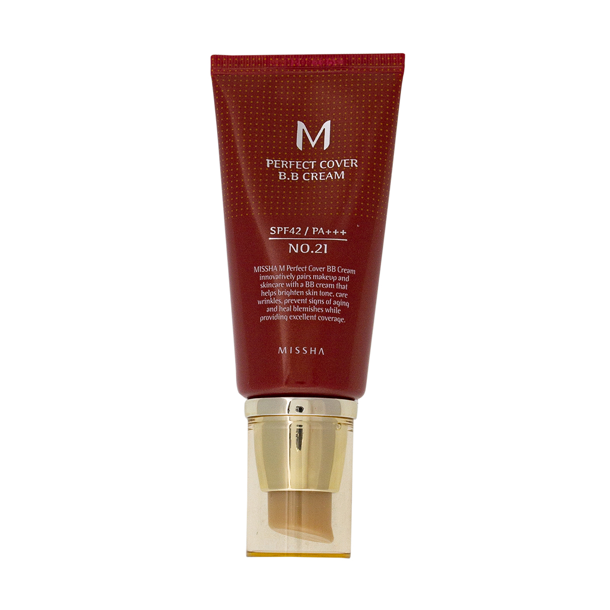 Missha BB-крем M Perfect Cover BB Cream No 21 Light Beige