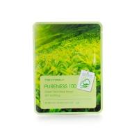 Тканевая маска для лица с экстрактом зеленого чая, 21 мл