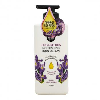 Лосьон для тела парфюмированный с ароматом английского ириса 400 мл