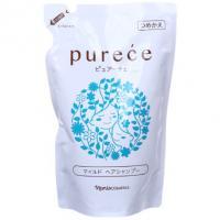 Шампунь для волос мягкий с протеинами и аминокислотами шелка, запасной блок, 450 мл