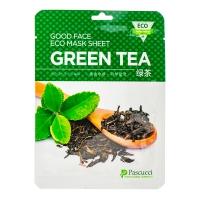 Тканевая маска для лица с экстрактом зеленого чая, 23 мл