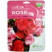 Тканевая маска для лица c экстрактом лепестков розы, 23 мл