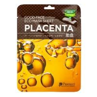 Тканевая маска для лица с плацентой, 23 мл